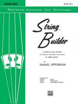 Applebaum Samuel - String Builder 1 - Violin And Piano