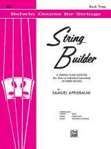 Applebaum Samuel - String Builder 3 - Double Bass