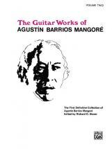 Barrios Mangore Agustin - Guitar Works V 2 - Guitar
