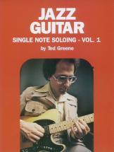 Jazz Guitar Single Note Solo 1 - Guitar