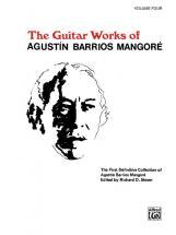 Barrios Mangore Agustin - Guitar Works V 4 - Guitar
