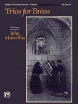 Marcellus - Trios For Brass Vol 1 Advanced - Treble Clef
