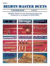 Snell Keith - Belwin Master Duets - Trombone Easy I - Trombone