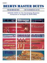 Snell Keith - Belwin Master Duets - Trombone Intermediate I - Brass Ensemble