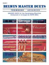 TROMBONE 2 Trombones (duo) : Livres de partitions de musique