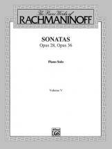 Rachmaninov Sergei - Sonatas 5 - Piano Solo