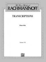 Rachmaninoff Transcriptions 7 - Piano Solo