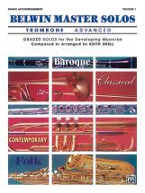 Belwin Master Solos V1 Advance - Trombone And Piano