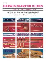 Snell Keith - Belwin Master Duets - Flute Intermediate Ii - Flute Ensemble
