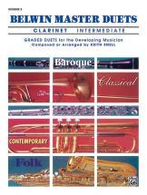 Snell Keith - Belwin Master Duets - Clarinet Intermediate Ii - Clarinet Ensemble