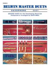 Snell Keith - Belwin Master Duets Saxophone Easy Ii - Saxophone Ensemble