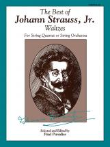 Alfred Publishing Best Of Strauss Waltzes - String Orchestra