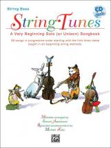 Applebaum Samuel - Stringtunes + Cd - Double Bass And Piano