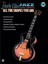 Ellis Herb - Jazz Guitar All Shapes + Cd - Guitar