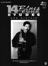 Mintzer Bob - 14 Blues & Funk Etudes + Cd - Trumpet