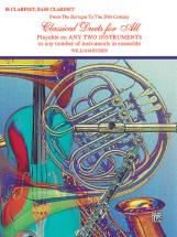 Classical Duets For All - Clarinet Ensemble