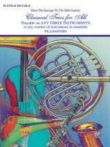 Classical Trios For All - Flute Ensemble