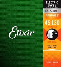 Elixir 5 Cordes 45 65 80 100 130