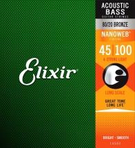 Elixir 14002 Nanoweb Basse.040 .060 .075 .095