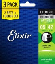 Elixir Pack De 3 Jeux Optiweb Super Light 09-11-16-24-32-42