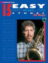 Mintzer Bob - 15 Easy Jazz Blues & Funk Etudes + Cd - Trumpet