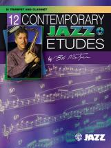 Mintzer Bob - 12 Contemporary Jazz Etudes + Cd - Trumpet And Piano