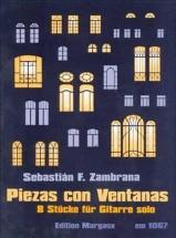 Zambrana Sebastian F. - Piezas Con Ventanas - Guitare