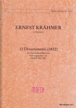 Krahmer E. - 12 Divertimenti (1822)