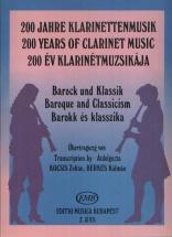 Baroque And Classicism - Clarinette Et Piano