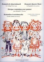 Romantic Quartet Music For Beginner - Quatuor A Cordes