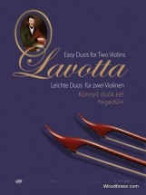 Lavotta Janos - Easy Duos For Two Violins