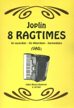 Joplin S. - Ragtimes (eight) - Accordeon