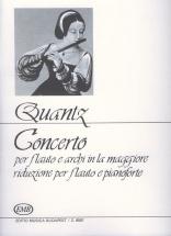 Quantz J. - Concerto In La Maggiore - Flute Et Piano