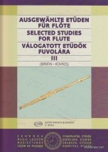 Bantai / Kovacs - Selected Studies Flute Vol.3 - Flute