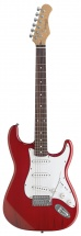 Stagg Standard S Elec.gt-red