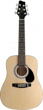 Stagg 1/2 Dreadnought Ac.gt.-natural