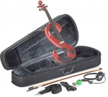 Stagg Set Violon Electrique 4/4 - Rouge