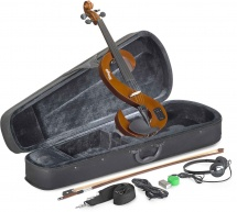 Stagg Set Violon Electrique Evn 4/4 Vbr - Violinburst