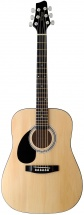 Stagg 3/4 Dreadnought Ac.gt.-nat. Lh