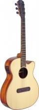 Jn Guitars E/a Min Jumbo Cw-sld Spru/maho
