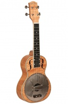 Gold Tone Resouke Cm Ukulele Tenor Avec Resonateur Table En Erable Madre Et Housse Incluse