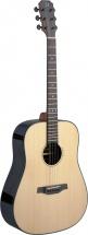 Jn Guitars Dread Ac.gt-solid Spruce/rswd