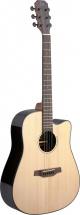 Jn Guitars E/a Dread Gt Cw-sld Spru/rswd