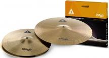 Stagg Axa Set - Copper-steel Set De Cymbales- Hh13+c16