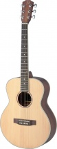 Jn Guitars Asy-a Mini Lh Travel Ac.gt Spruc Sld Maho Lh