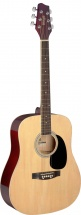 Stagg Dreadnought Ac.gt.-natural