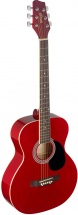 Stagg Acoustic Gt.audi Linden Red