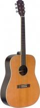 Jn Guitars Ezr-d Nbk Dread Ac.gt-sld Cedar Nbk