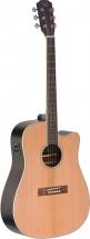 Jn Guitars Ezr-dcfi Nbk Dreadn E/a Gt Cw Cedar Nbk