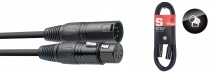Stagg Cable Dmx Xlr/xlr (m/f) (5 Broches) 3 M